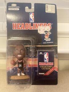 NBA Basketball Headliners Jamal Mashburn Miami Heat Mini Figure