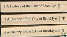 New York History-City of Brooklyn, by; Stiles-3 Volumes-1993-Heritage Classic