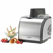 VonShef Fully Automatic Ice Cream Maker With Built-in Compressor, 1.6-Quart LCD
