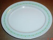 Burleigh Ware Oval Platter Plate Circa 1940's