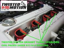 TWISTED MOTION SR20DET TURBO UPGRADED COIL PACKS 240SX S13 S14 DRIFTING