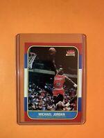 Michael Jordan 1986 Fleer #57 -Rookie Card! PLEASE SEE BELOW