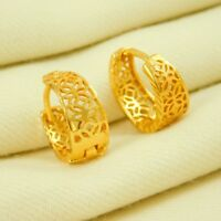 Designer Indian Hoop Earrings Jhumka Goldplated Traditional Fashion Jewelry