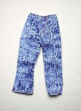 Barbie doll blue jean denim washed out look capri pants clothes