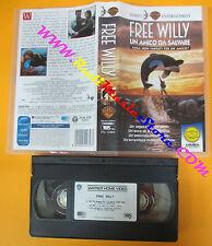 VHS film FREE WILLY UN AMICO DA SALVARE 1996 Simon Wincer GLI SCUDI (F99) no dvd