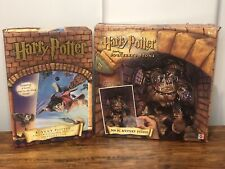 2 Harry Potter Puzzles 300 Piece Mystery w Decoder & 250 Quidditch Golden Snitch