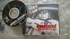 samurai shodown III sur neogeo cd usa