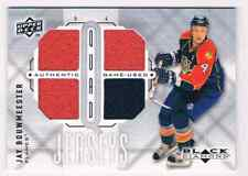 2009-10 BLACK DIAMOND QUAD JERSEY JAY BOUWMEESTER QUAD JERSEY 2 COLORS CS