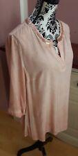 Gina Laura  Tunika/Bluse/Longshirt Gr.L/40/42 Vintage- look Pailletten