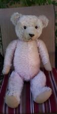 VINTAGE/ANTIQUE MOHAIR TEDDY BEAR 30""