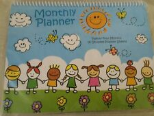 Kids Undated 24 Month Monthly Planner New in Package