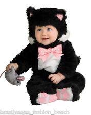 Infant Inky Black Kitty Baby Halloween Costume Cat (12-18 months) Fantasia Gato