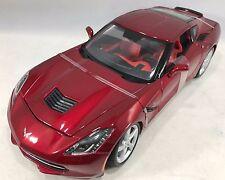 Maisto - 31182 -  Chevrolet Corvette C7 Stingray 2014 Scale 1:18 - Metallic Red