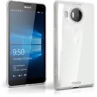 Funda TPU Gel Carcasa para Microsoft Lumia 950 XL Cubierta Cover + Prot Pantalla