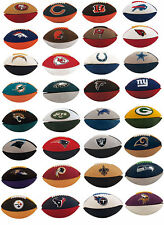 LOT OF 10 NFL FOOTBALL ERASERS COLLECTIBLE TRADE PARTY GOODY BAGS CARNIVAL PRIZE