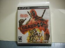 DEADPOOL GAME BRAND NEW FACTORY SEALED FOR PLAYSTATION 3 PS3