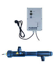 PURION 1000 Salzwasser Pool ökologische Reinigung Lampenlaufzeitmesser