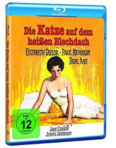 Die Katze auf dem heißen Blechdach [Blu-ray/NEU/OVP] Elizabeth Taylor, Paul Newm