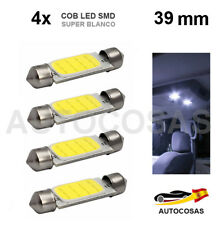 4x 39 MM COB LED SMD COCHE SUPER BRILLANTE C5W 5050 INTERIOR MATRICULA LECTURA