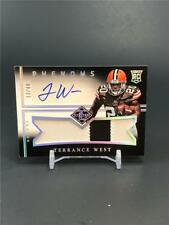 2014 PANINI LIMITED TERRANCE WEST ROOKIE PATCH AUTO 13/49 CLEVELAND BROWNS
