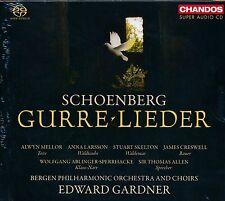 Schoenberg Gurre-Lieder CD NEW Edward Gardner Alwyn Mellor SACD Larsson Creswell