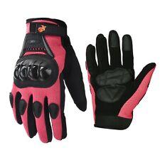 Motorcycle Power sports ATV Motocross Dirt Bike Street Bike Gloves Pink