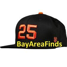 San Francisco Giants Barry Bonds # 25 Retirement Ceremony Hat SGA SF cap