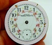 Antique Pocket watch movement Waltham PS Bartlett circa 1885 18S 15 jewel M1877