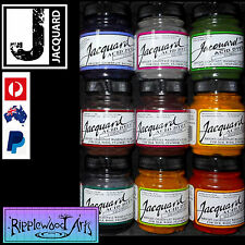 Jacquard ACID DYE (Acid=Vinegar) 40 Vibrant Colors Available - Your choice of  9