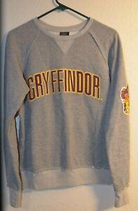 Wizarding World Harry Potter Sweatshirt Gryffindor Gray Small