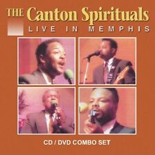 The Canton Spirituals - Live in Memphis - New Factory Sealed -Combo CD/DVD