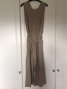 Zara Beige All In One / Jumpsuit Size S