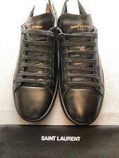Saint Laurent  Black  Sneakers EU41.5 UK 7.5 RRP £ 405