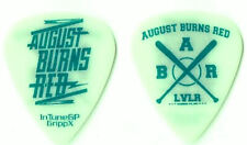 August Burns Red blue/lime green tour guitar pick