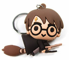 HARRY POTTER 3D Collectors Keyring Series 2 HARRY ON BROOM FIGURAL KEYCHAIN