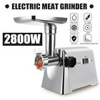2800W Electric Meat Grinder Stuffer Sausage Maker 6.6lbs/minute Mincer Machine  photo