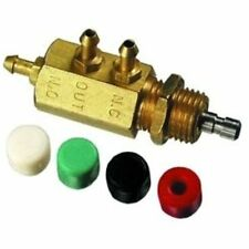 SMAV-3 3-Way Subminiature Normally-Open Normally-Closed Stem Valve, 4 Colors Of