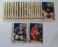 2001-02 Vanguard Hockey V-Team Set (1-20) Yzerman Roy