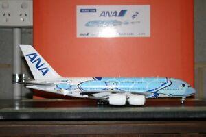 "JC Wings 1:200 ANA All Nippon Airbus A380-800 JA381A ""Honu Turtle"" (EW2388001)"