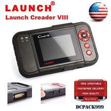 LAUNCH X431 CREADER VIII OBD2 Code Reader Scanner Engine transmiss ABS SRS RESET