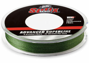 Sufix 832 Braid Fishing Line 3500 Yds, 40 Lb., Low-Vis Green