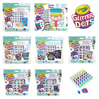 Crayola Glitter Dots Sparkle Station, Stencil Stickers - FAST & FREE DELIVERY