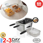 Farberware Home Electric Deep Fryer 4L Oil Fat Countertop Stainless Steel Fries photo