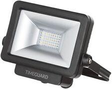 Timeguard LED PRO 10W a ingombro ridotto per ambienti Nero IP65