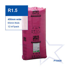 R1.5 | 430mm Pink Batts® Thermal Glasswool Wall Insulation