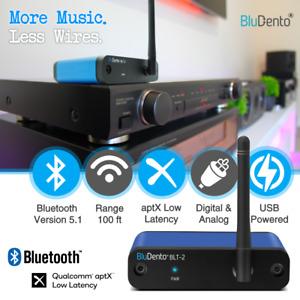 True Hi-Fi aptX Bluetooth 5.1 Burr Brown DAC TOSLINK replacing Audioengine B1