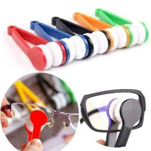 High quality Glasses Sunglasses Eyeglass Cleaner Cleaning Brush Wiper B3R2