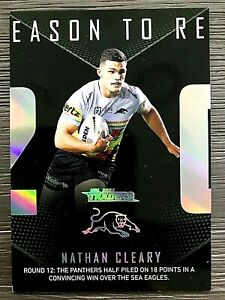 2021 NRL TRADERS '2020 SEASON TO REMEMBER' TRADING CARD - NATHAN CLEARY/PANTHERS