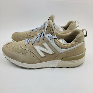 New Balance 574 Sport MS574BS Men's Size 11 Running Shoes Tan Brown Beige Gray