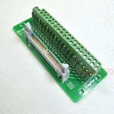"IDC40 2x20 40Pin 0.1"" 2.54mm Male Header Breakout Board Terminal Block Connector"
